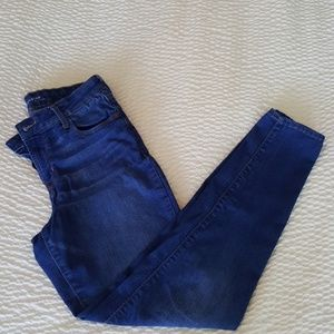 Old Navy Rockstar Blue Jay Mid Rise Skinny Jeans